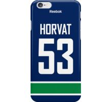 Vancouver Canucks Bo Horvat Jersey Back Phone Case iPhone Case/Skin
