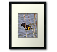 Mom Told Me There Would Be Days Like This! Framed Print