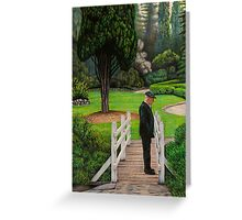 """The Silence"" pencil, 44.5x32.5cm Greeting Card"