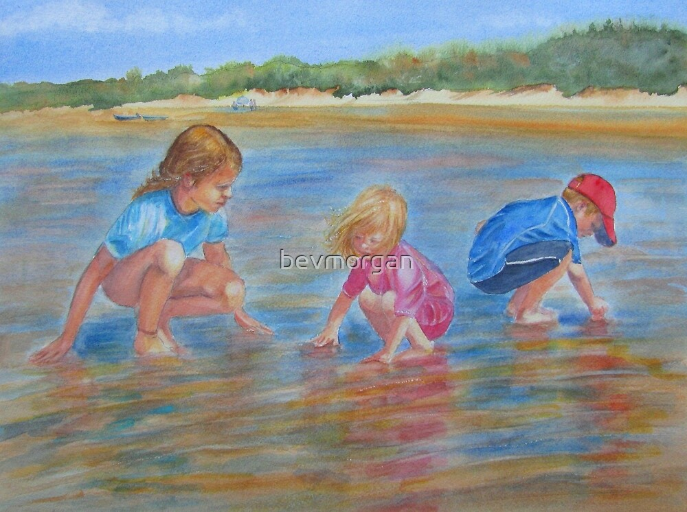 Hunting for crabs by bevmorgan