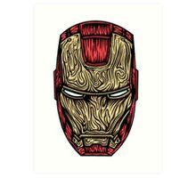 Iron Man Mask  Art Print
