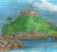 St Michael's Mount- view from the causeway by Kyleacharisse