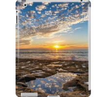 TIDE POOL SUNSET iPad Case/Skin