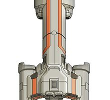 Federation Cruiser by DarthLlama