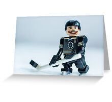 Patrice Bergeron (The Boston Bruins) Greeting Card