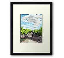 The View from the top of Wellington Arch Framed Print