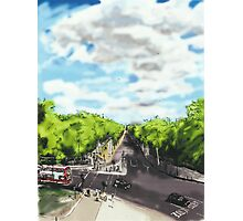 The View from the top of Wellington Arch Photographic Print