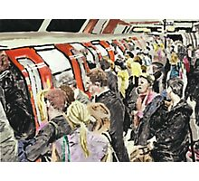 Rush Hour Crush Photographic Print
