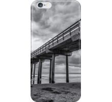 SCRIPPS PIER IN MONOCHROME iPhone Case/Skin