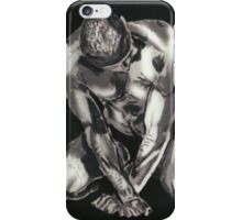 Black and White Beautiful Man iPhone Case/Skin