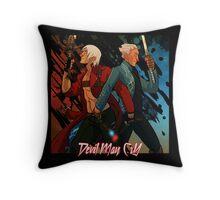 DMC - Brothers Throw Pillow