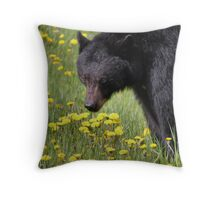 Dandelion Buffet Throw Pillow