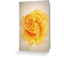Portrait of the Golden Queen Greeting Card