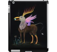 ill Eagle, Surreal Inverted Crayola Colored Pencil Drawing iPad Case/Skin