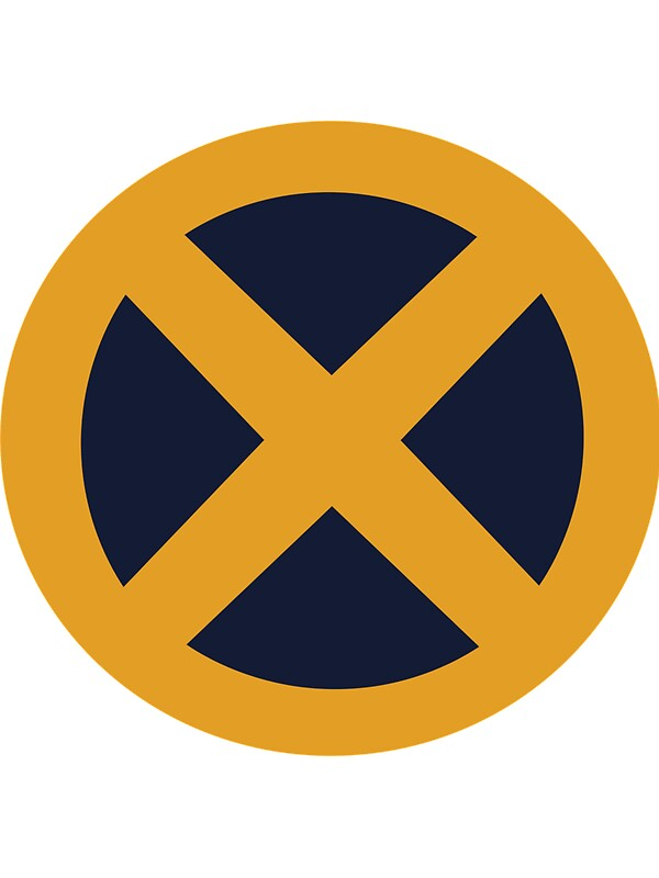 Yellowlue X-men-logo v...