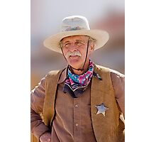 The Sheriff Photographic Print