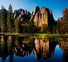 Yosemite Reflection by Nick Borelli