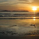 Sunset at Norman Bay, Wilsons Promontory, Victoria by johnrf