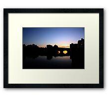 St. Ive's Sunset Framed Print