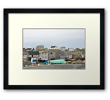 Salt Sea Air in Nova Scotia Framed Print