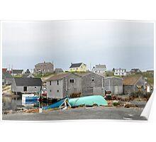 Salt Sea Air in Nova Scotia Poster