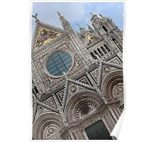 Cathedral - sienna, Italy Poster