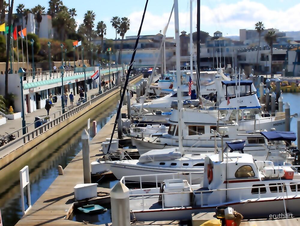 Redondo Beach Harbor 1130 by eruthart