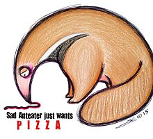 Anteaters Prefer Pizza by Sonya Craig