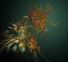 Blowing Leaves by Perry Van Dongen
