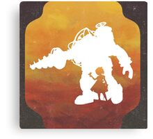 Game Trio - Bioshock Canvas Print