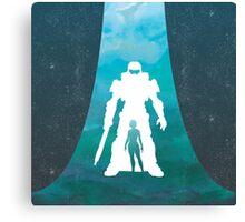 Game Trio - Halo Canvas Print