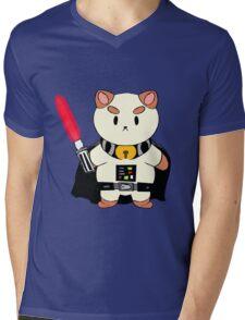 PuppyCat Vader Mens V-Neck T-Shirt