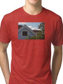 Bright Day Blue Cottage Gothenburg Tri-blend T-Shirt