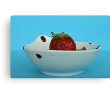 chocky bath Canvas Print