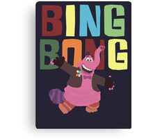 Bing Bong with colors! Canvas Print
