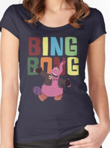 Bing Bong with colors! Women's Fitted Scoop T-Shirt