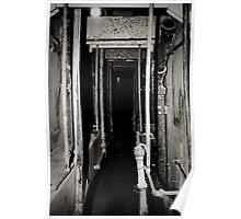 Prison Maintenance Tunnel Poster