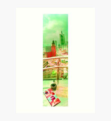 Frankfurt 3 Art Print