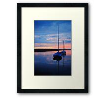 Blakney Boats Framed Print