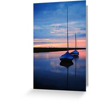 Blakney Boats Greeting Card