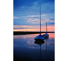 Blakney Boats Photographic Print