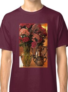 Teatime and Flowers  Classic T-Shirt