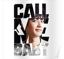EXO Chanyeol 'Call Me Baby' Poster