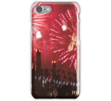 WaterColour Fireworks in New York City  iPhone Case/Skin