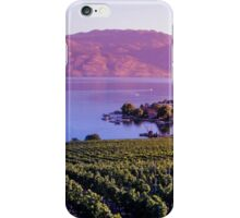 Okanagan Vineyard  iPhone Case/Skin