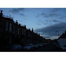 Dudley Street Dusk Photographic Print