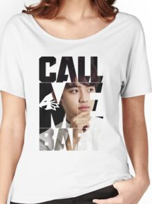 EXO D.O. 'Call Me Baby' Women's Relaxed Fit T-Shirt