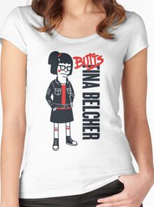Butts Women's Fitted Scoop T-Shirt
