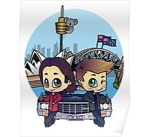 Winchesters in Sydney Poster