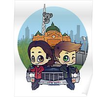 Winchesters in Melbourne Poster